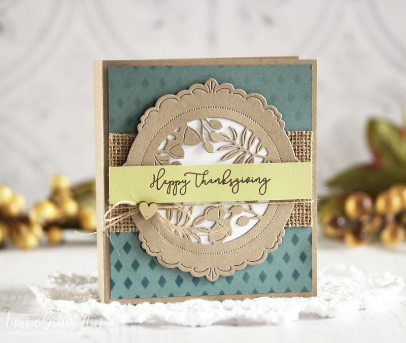 Thanksgiving Card Set 1 by Laurie Schmidlin