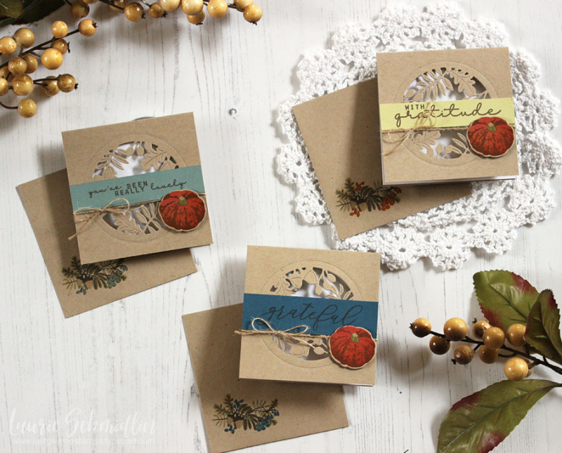 Thanksgiving Card Set 4 by Laurie Schmidlin