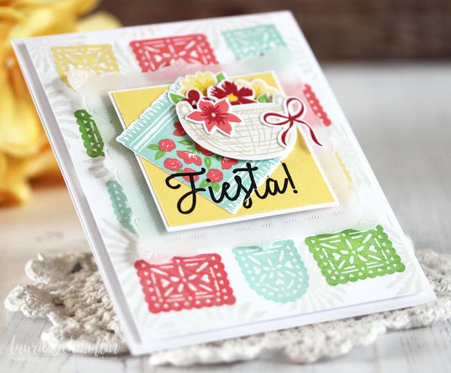 Fiesta (detail 2) by Laurie Schmidlin