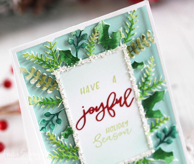 Joyful Holiday Season (detail 1) by Laurie Schmidlin