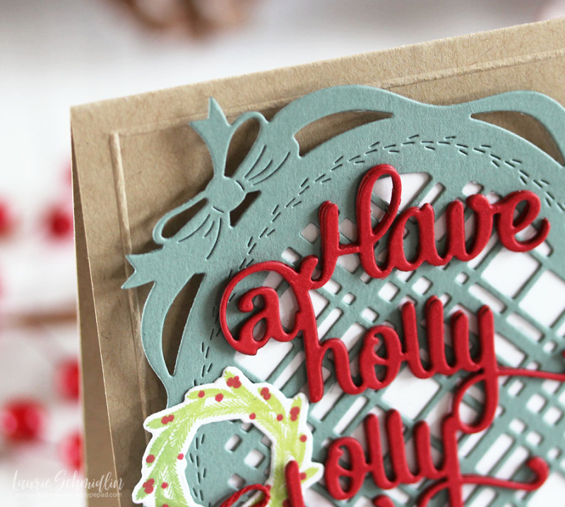 Holly Jolly (detail 1) by Laurie Schmidlin