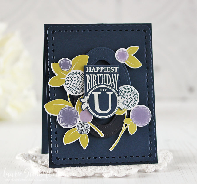 Happiest Birthday 3 by Laurie Schmidlin