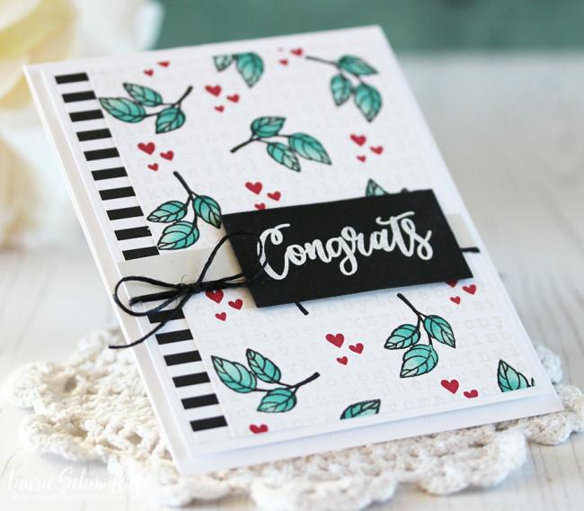Congrats (detail 2) by Laurie Schmidlin