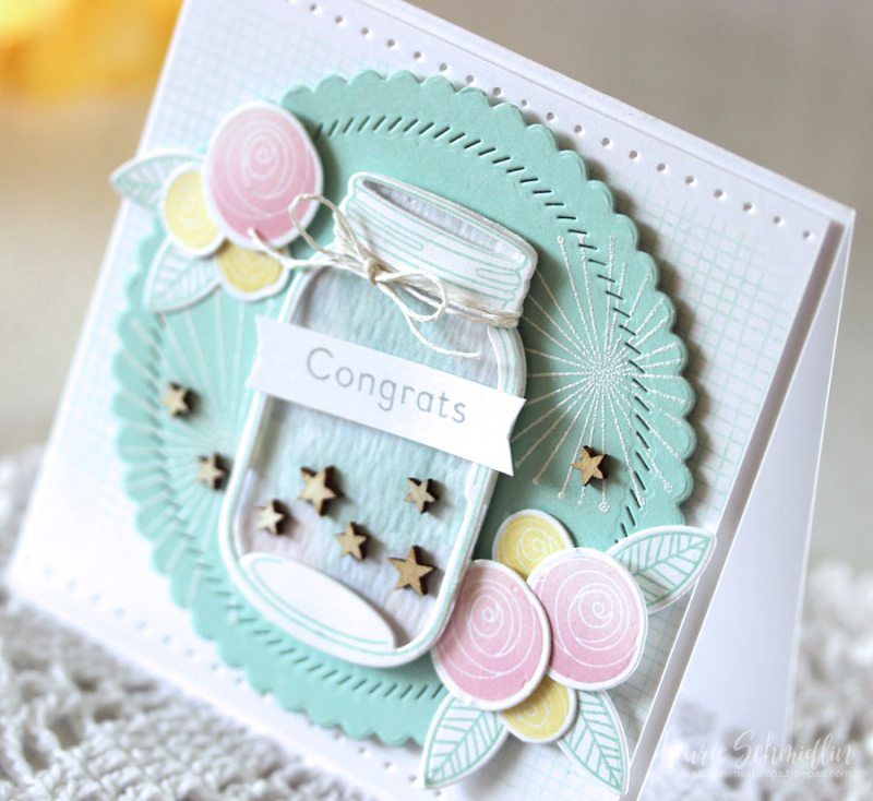 Congrats (detail 1) by Laurie Schmidlin