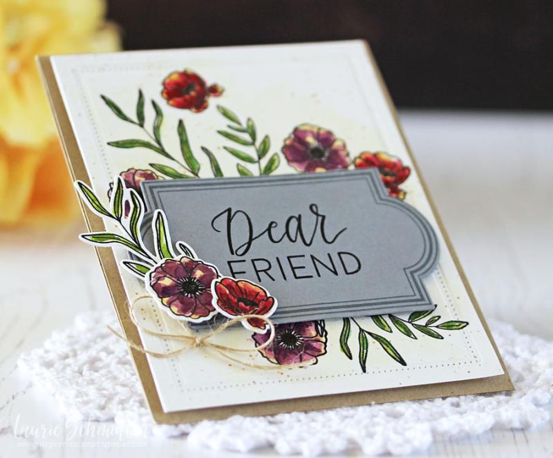Dear Friend (detail 2) by Laurie Schmidlin