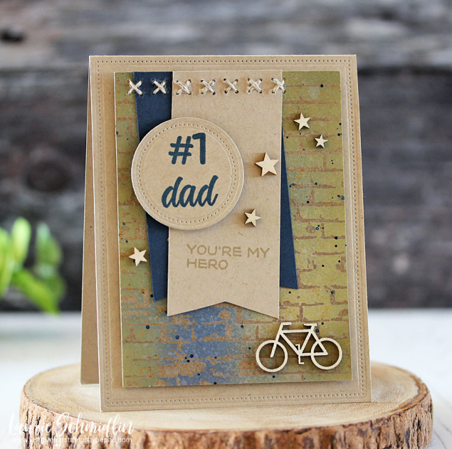 #1 Dad by Laurie Schmidlin