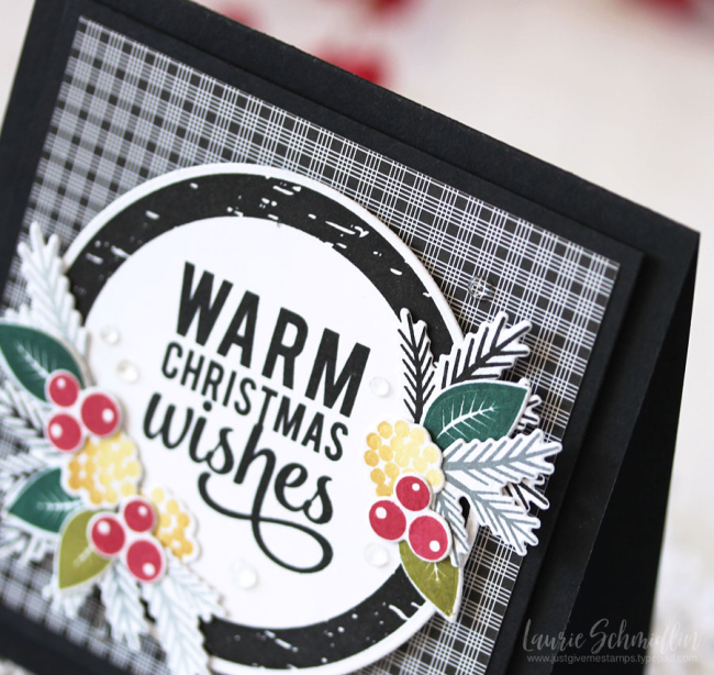 Warm Winter Wishes (detail 1) by Laurie Schmidlin