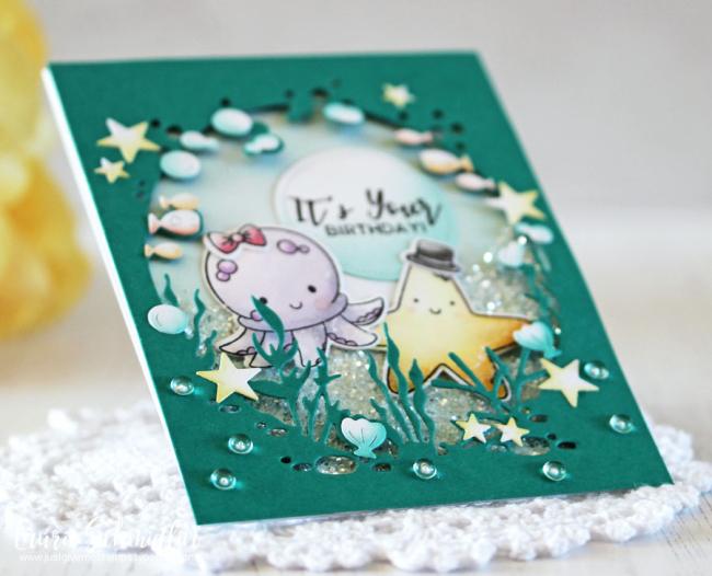 Fan-Sea Birthday (detail) by Laurie Schmidlin
