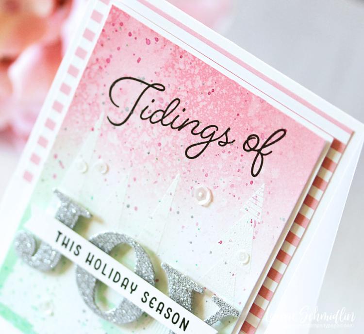 Tidings of Joy (detail 1) by Laurie Schmidlin