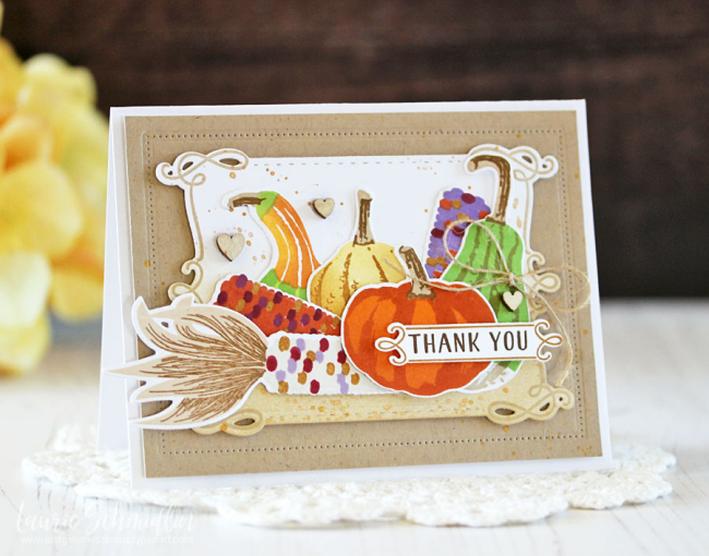 Corny Thank You by Laurie Schmidlin