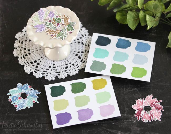 Custom Ink Colors by Laurie Schmidlin