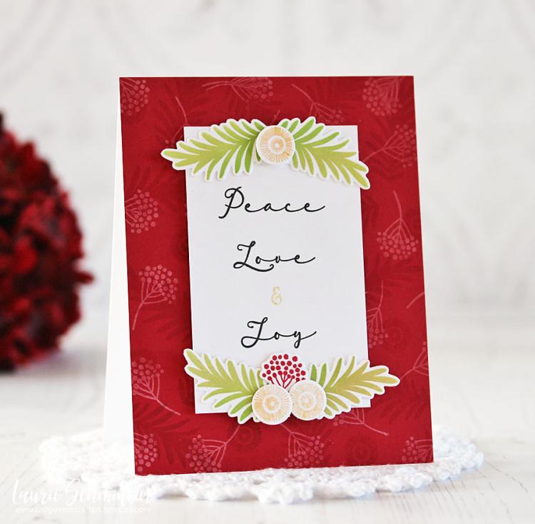 Peace Love & Joy by Laurie Schmidlin