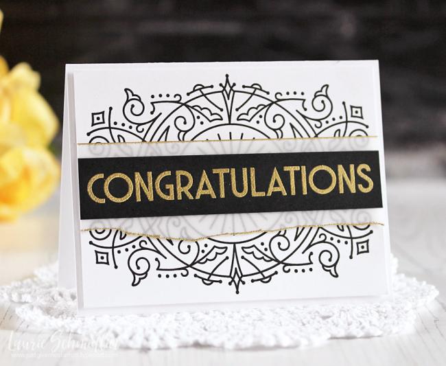 Deco Congrats by Laurie Schmidlin