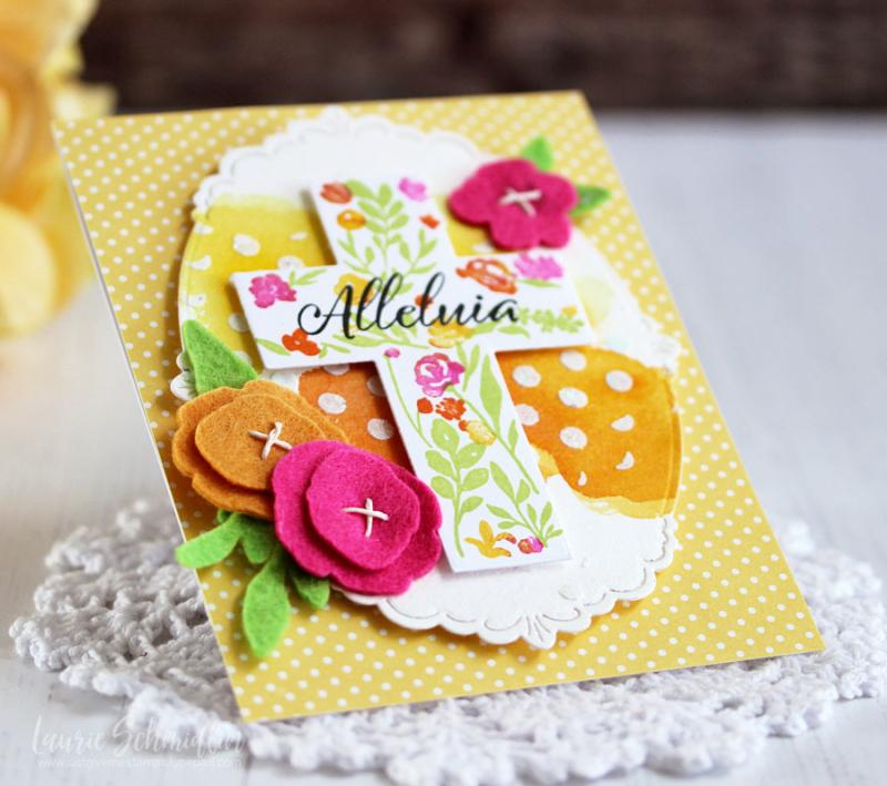 Alleulia (detail 2) by Laurie Schmidlin
