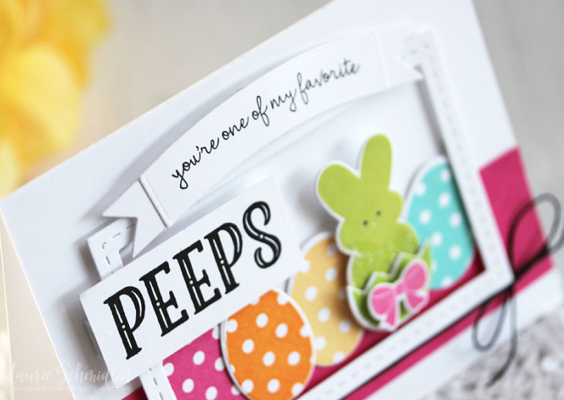 Favorite Peeps (detail 1) by Laurie Schmidlin