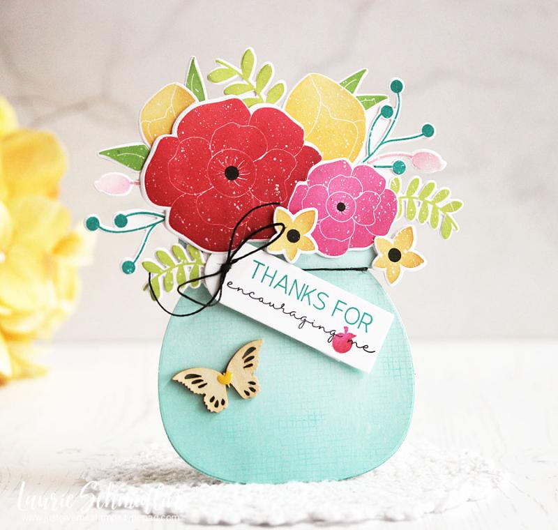 Encouraging Bouquet by Laurie Schmidlin