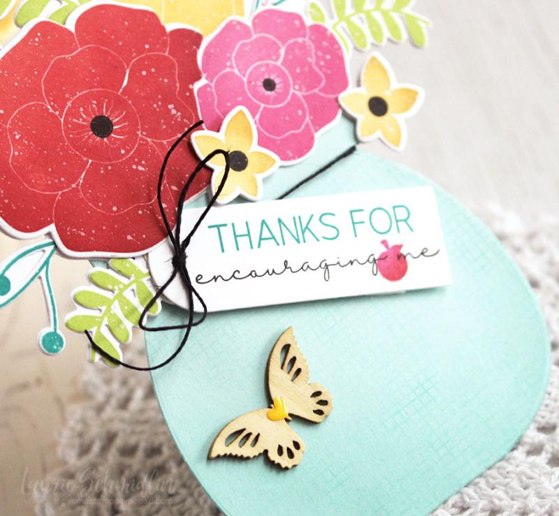 Encouraging Bouquet (detail 1) by Laurie Schmidlin