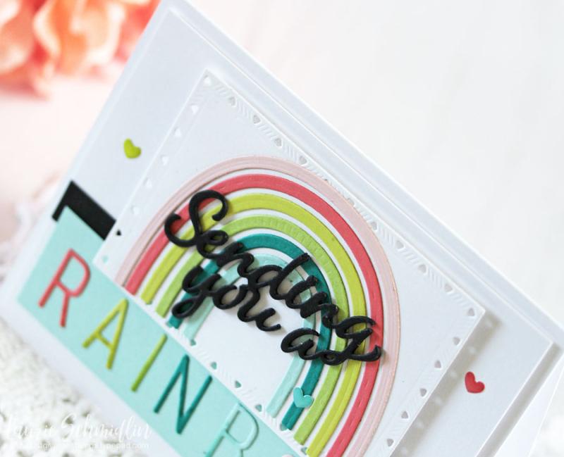 Sending a Rainbow (detail 1) by Laurie Schmidlin