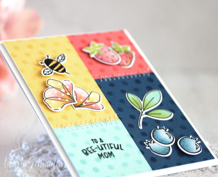 Bee-utiful Mom (detail 1) by Laurie Schmidlin