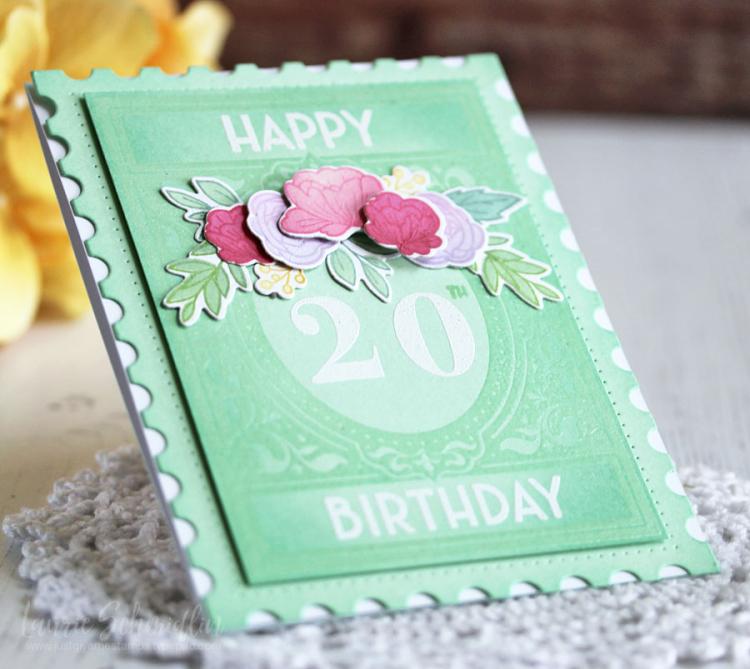 Vintage Birthday (detail 2) by Laurie Schmidlin