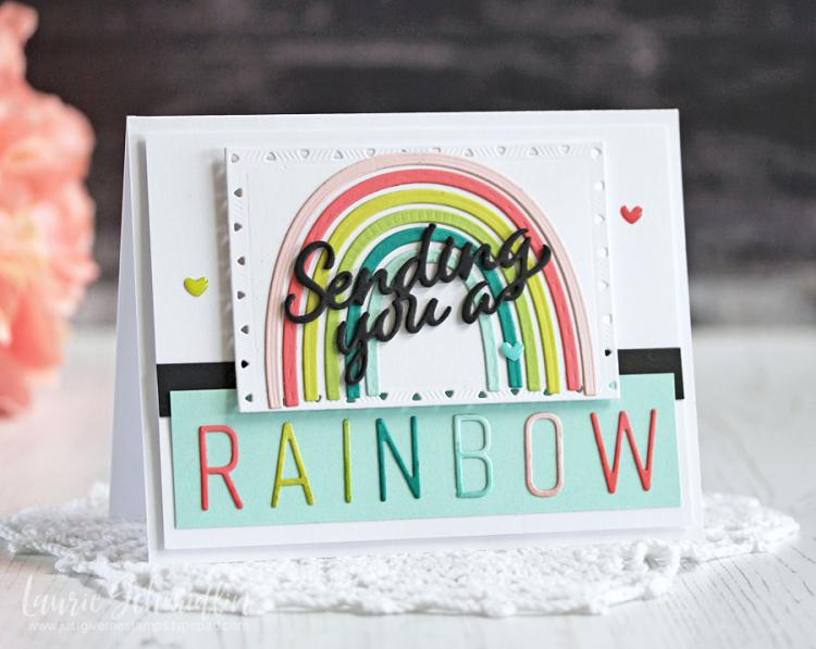 Sending a Rainbow by Laurie Schmidlin