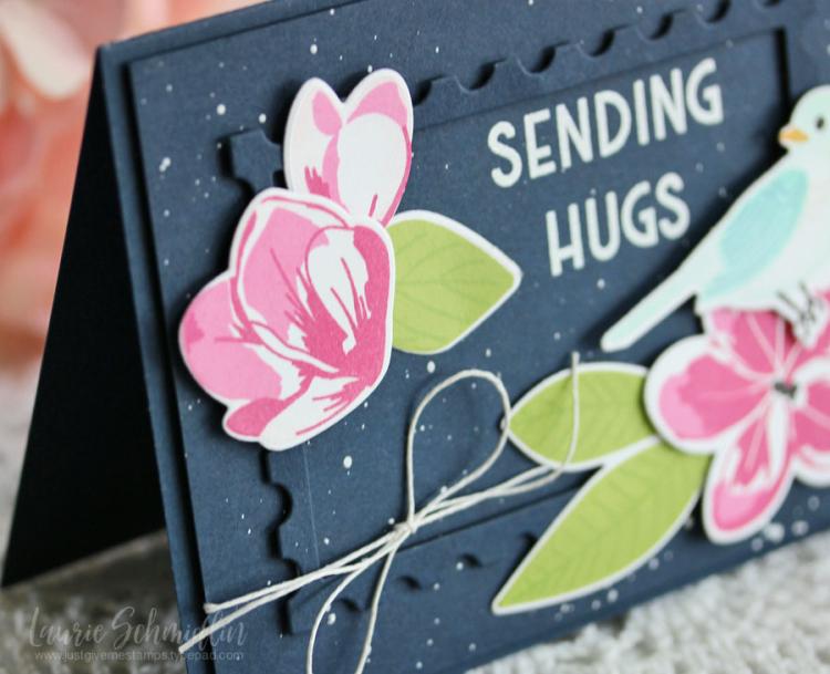 Hugs (detail 1) by Laurie Schmidlin