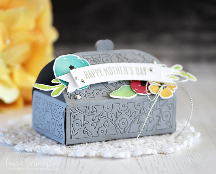 Mother's Day Dainty Box 1 by Laurie Schmidlin
