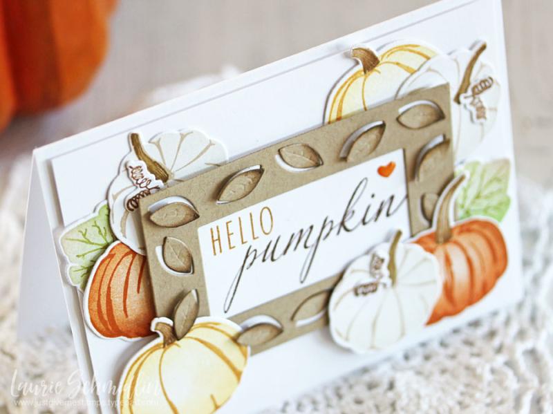 Hello pumpkin (detail 1) by Laurie Schmidlin