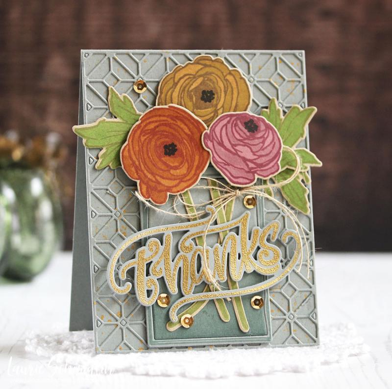 Ranunculus Thanks by Laurie Schmidlin