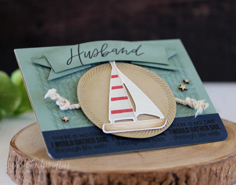 Sail Through Life (detail 2) by Laurie Schmidlin