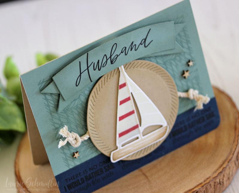 Sail Through Life (detail 1) by Laurie Schmidlin
