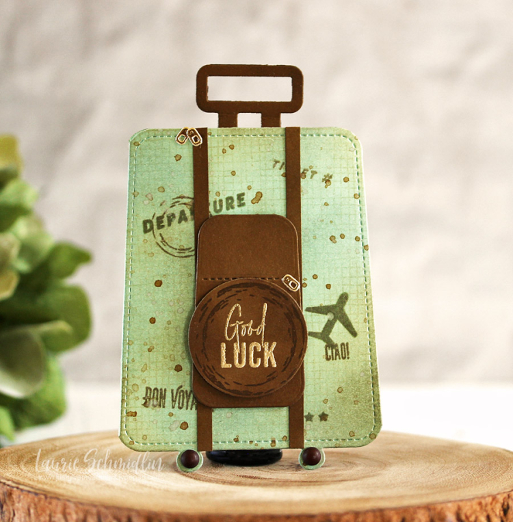 Good Luck Gift Card Holder by Laurie Schmidlin