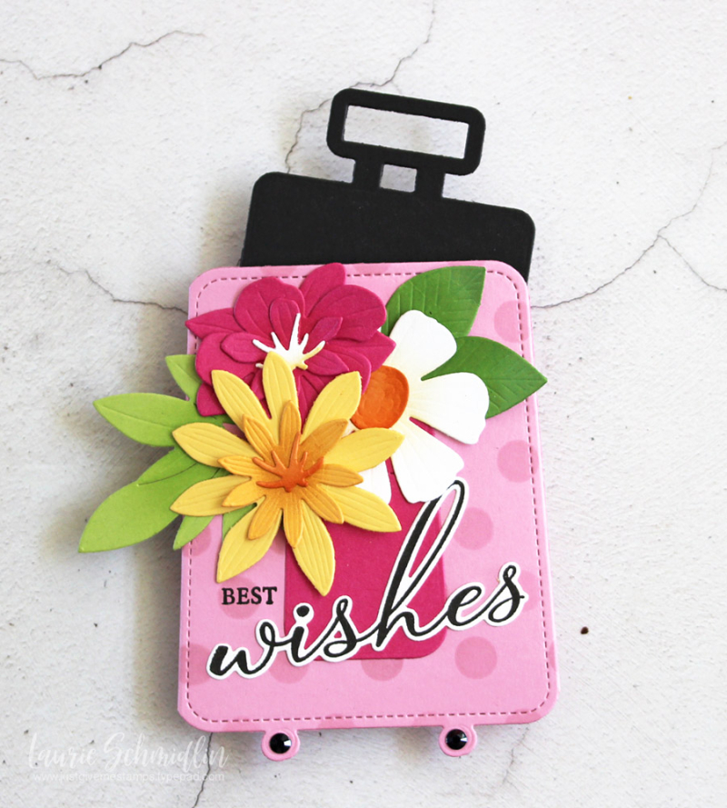 Best Wishes Gift Card Holder (detail 2) by Laurie Schmidlin