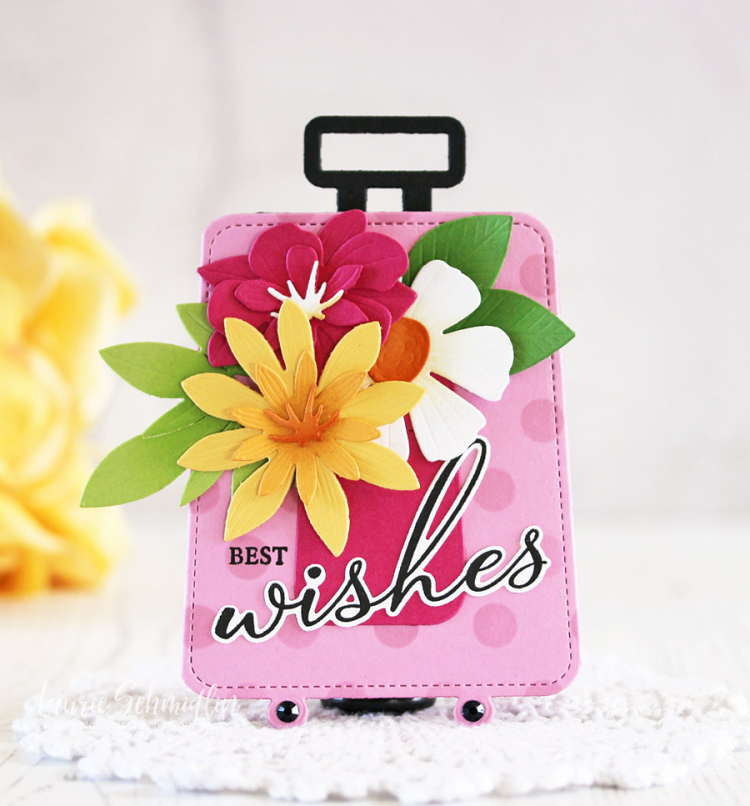 Best Wishes Gift Card Holder by Laurie Schmidlin